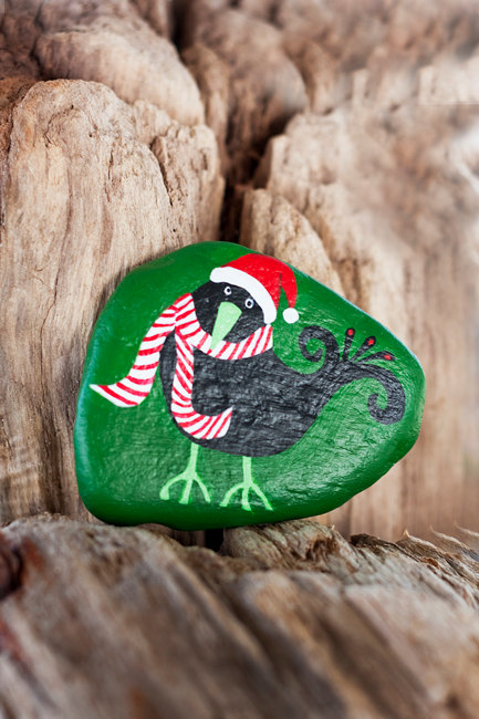26 Wonderful Ideas Of Painted Christmas Rocks That You