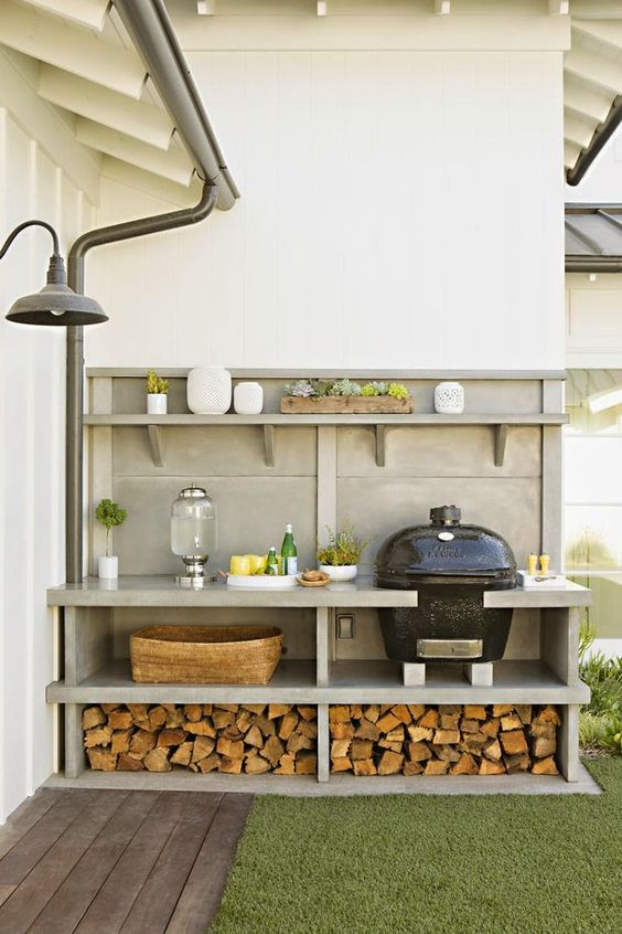15+ Creative Outdoor Firewood Rack And Storage Ideas You