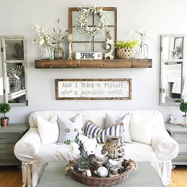 18 Rustic Wall Decor Ideas to Turn Shabby into Fabulous - The ART in ...