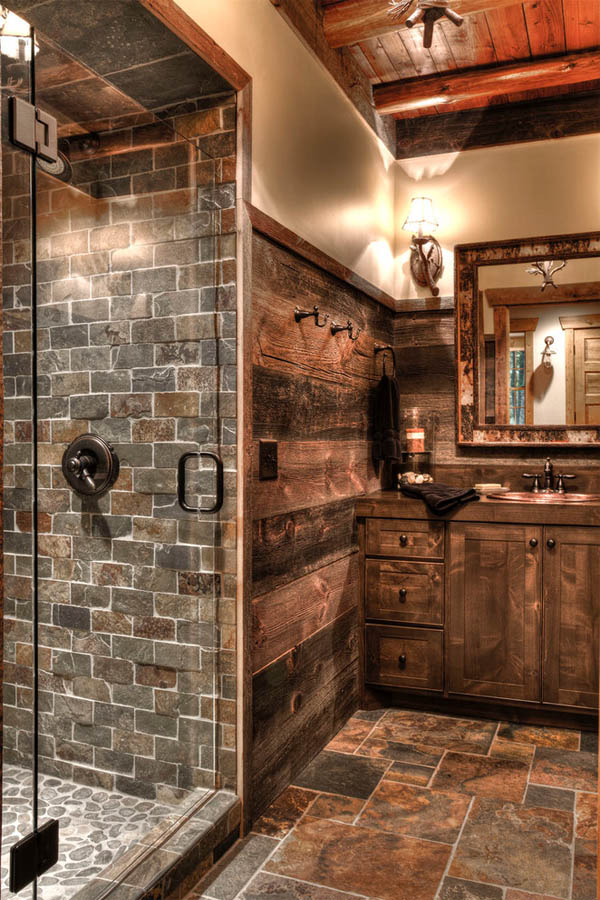 20 gorgeous rustic bathroom decor ideas to try at home Bath barn