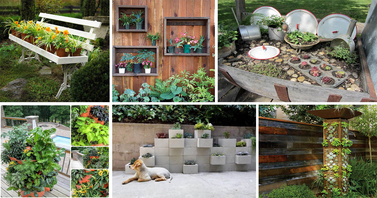 15 Fabulous Small Patio Ideas To Make Most Of Small Space: 15 Crafty Small Garden Ideas And Solutions For Saving