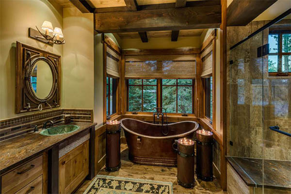16 Rustic Bathroom Design Decor Ideas Homebnc