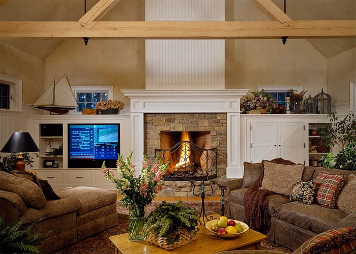 A Perfect Living Room For The Chilly Winters Ahead