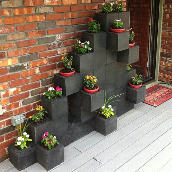 10 Wonderful Cinder Block Projects To Make For Your