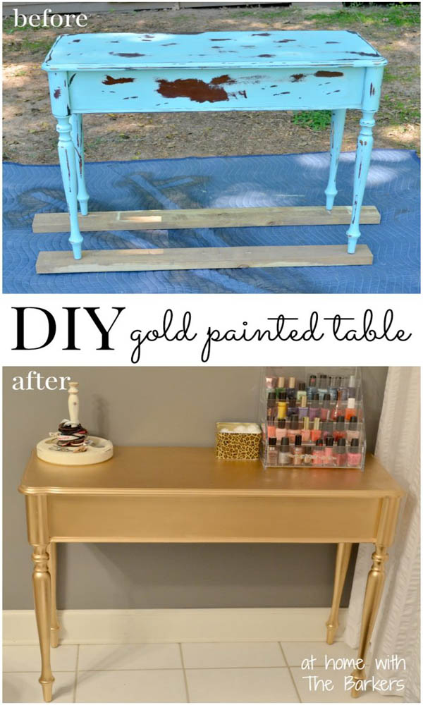18 Spectacular Diy Makeovers That Prove Spray Paint Is