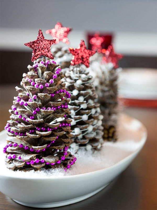 Amazing Pine Cone Decorations You Can Make For Christmas ...