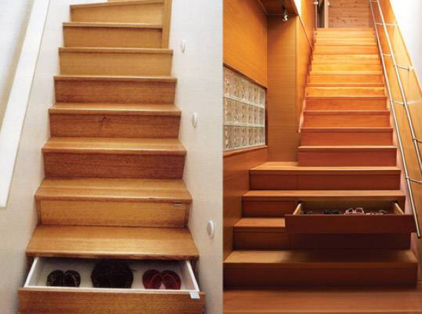 15 brilliant home improvement ideas the art in life - Inspiring under stairs storage ...