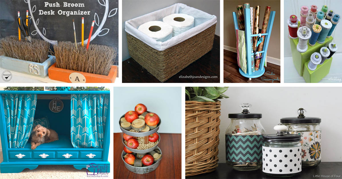 17 Completely Genius Upcycling Ideas Trash To Treasure Crafts