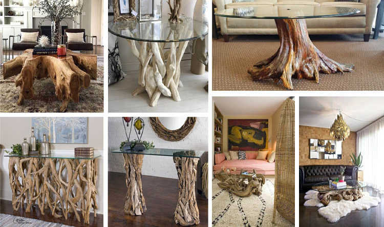 18 Wonderful Driftwood Table Ideas You Will Have To See The Art In Life