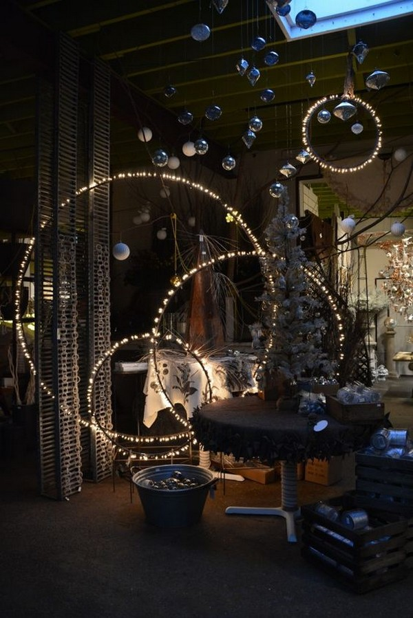 15 gorgeous ways to light up your backyard the art in life for Home decor ideas string lights