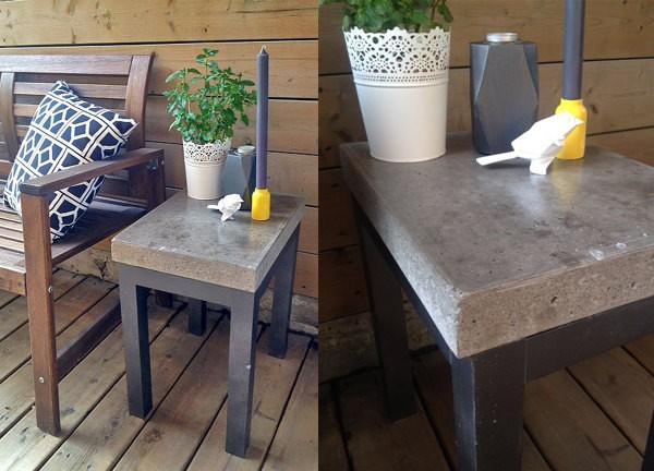 20 easy and fun diy garden furniture ideas the art in life for Easy diy patio table