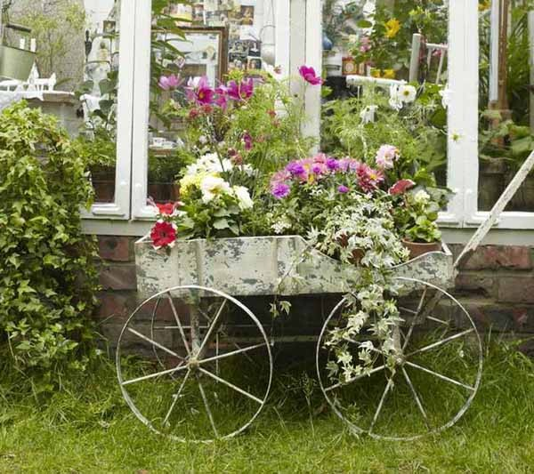 Diy Flower Gardening Ideas And Planter Projects: 20 Easy And Creative DIY Garden Projects You Can Start Now