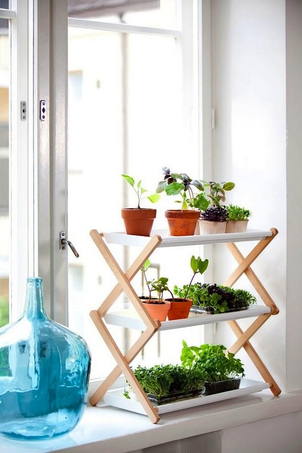 Beautiful and most creative diy plant stand ideas for for Herb stand ideas