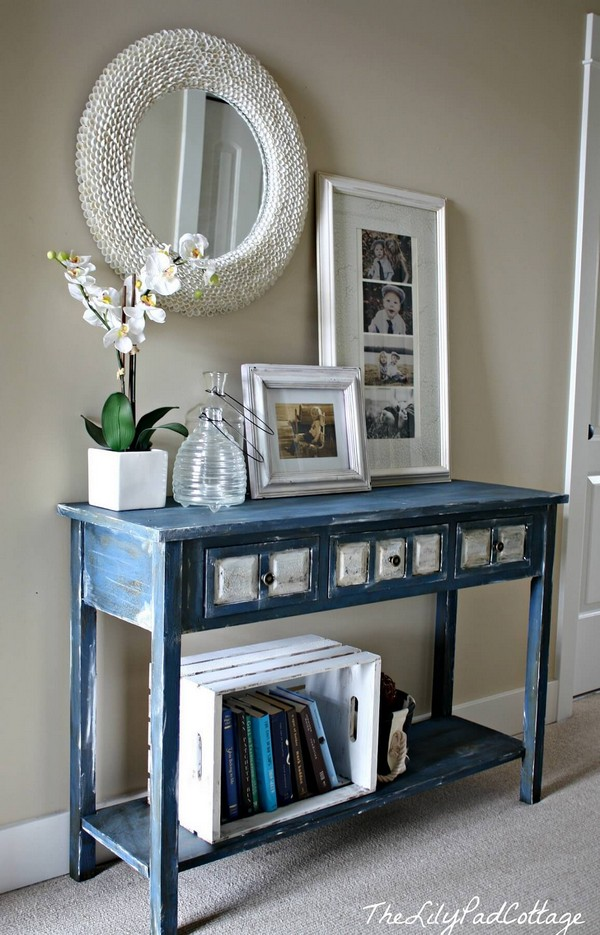 20 Eye Catching Entry Tables Ideas To Make A Fantastic