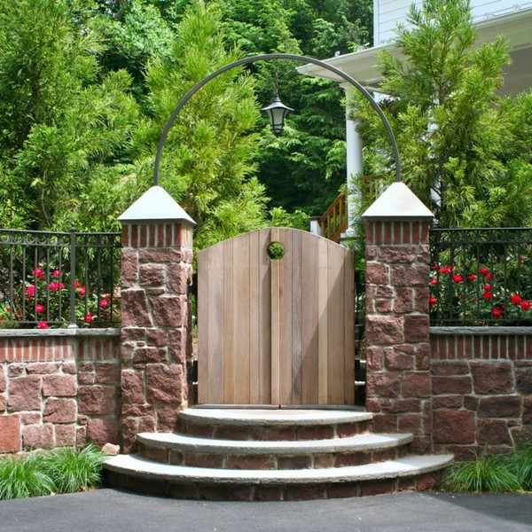 garden gate ideas. Wooden Garden Doors Can Be Extremely Stylish Gate Ideas