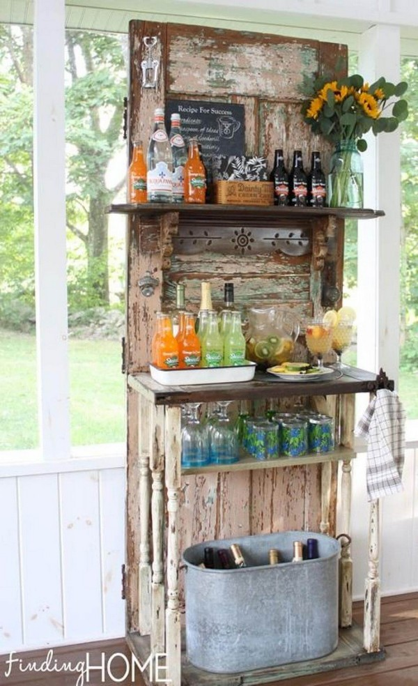 Creative Ideas For Old Doors : Simple and creative ideas of how to reuse old doors