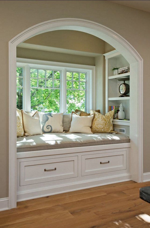 Window Seat Library: 20 Cozy Reading Nook Ideas Where You Can Relaxing This