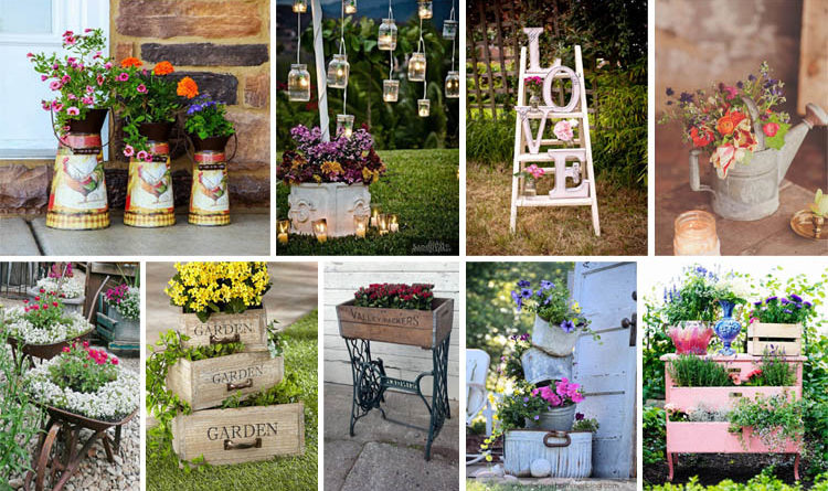 Charmant 20 Vintage Garden Decor Ideas To Give Your Outdoor Space A New Spirit   The  ART In LIFE