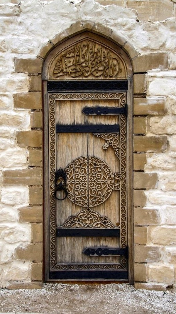 16 splendidly intricate hand carved doors that you must for Beautiful front door entrances