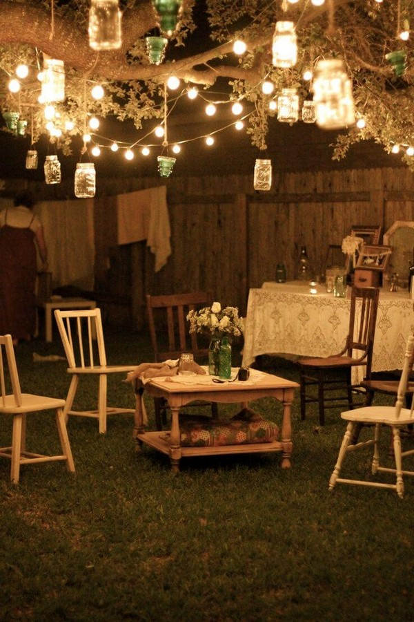 Backyard Parties At Night :  Decor Ideas to Give Your Outdoor Space a New Spirit  The ART in LIFE
