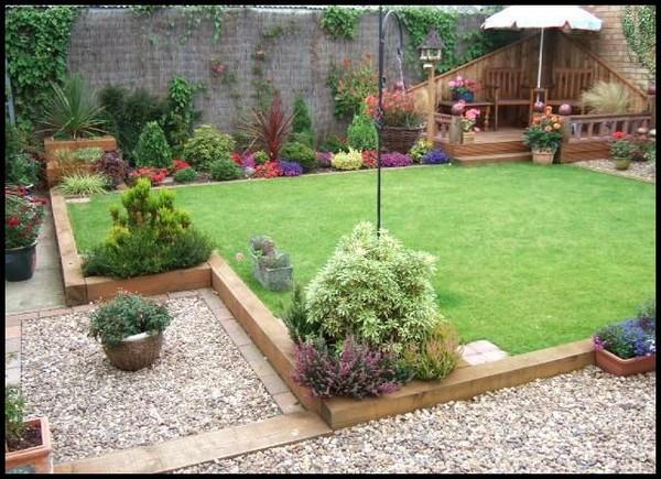 excellent wooden garden border edging 16
