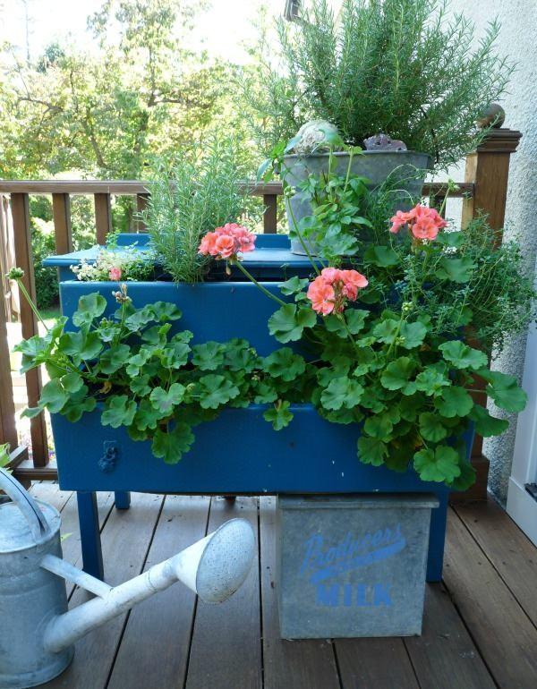 18 Unique And Creative Garden Planter Ideas You Never