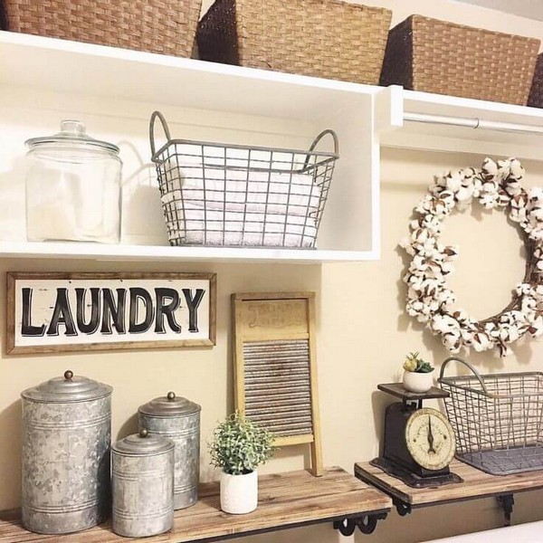 16 Ways To Give Your Laundry Room A Vintage Makeover The Art In Life