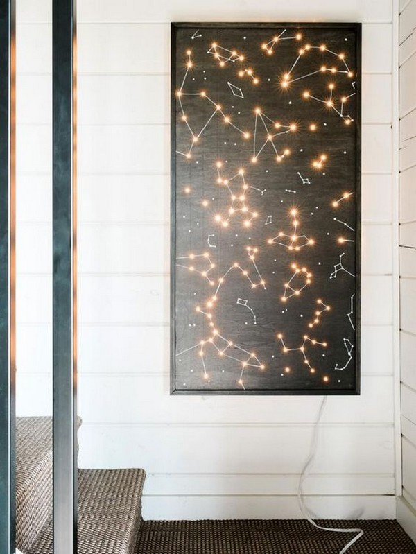 wall art lighting ideas. 18 mind blowing lighting wall art ideas for your home and e