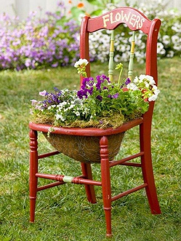 The Best 13 Ways To Repurpose Old Chair And Give A New