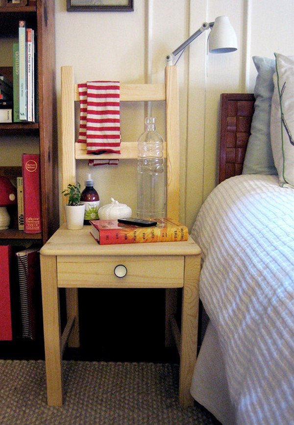 The best 13 ways to repurpose old chair and give a new Repurpose ikea furniture