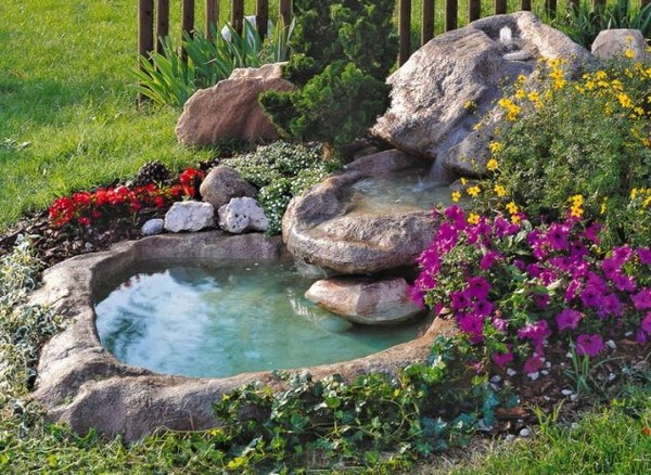 15 absolutely stunning backyard water pond that will catch for Laghetto in giardino