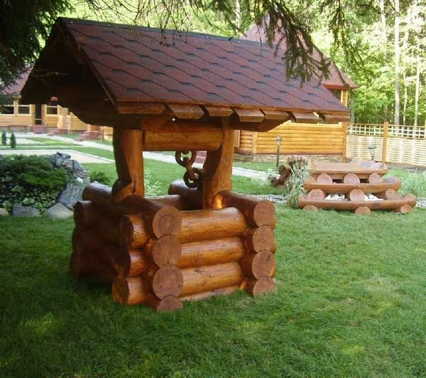 15 diy garden decoration with tree or logs that you will for Backyard decoration