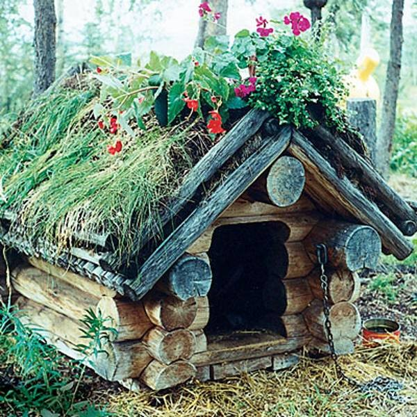 Small Backyard Ideas Dogs: 15 DIY Garden Decoration With Tree Or Logs That You Will