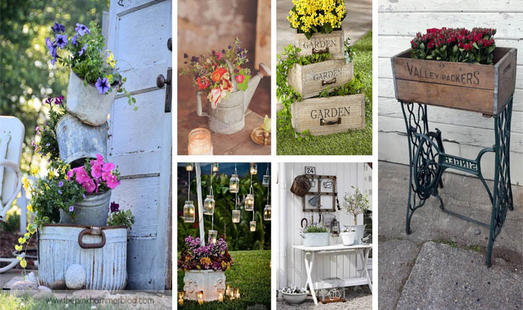 15 Beautiful Vintage Garden Ideas To Give Your Outdoor Space Vintage Flair    The ART In LIFE