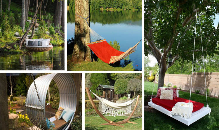 14 Backyard Hammock Ideas Adding Cozy Accent to Outdoor Place