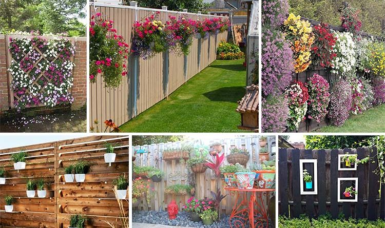 15 Super Unique Fence Planters ...