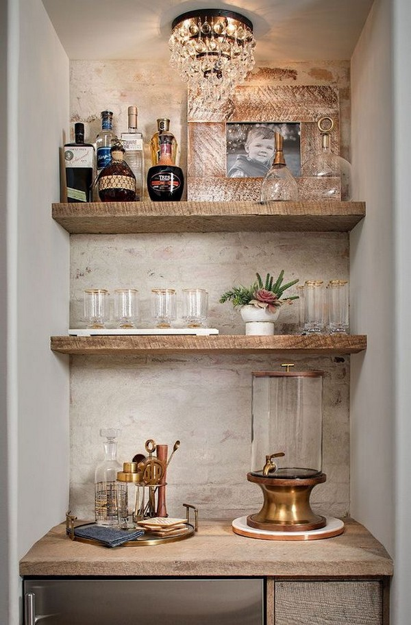 Awesome Home Bar Ideas That You Can Create Even In Small