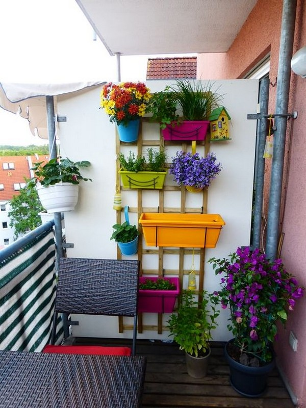 13 Small Balcony Design Ideas: 15 Fantastic Wall Planters To Get The Most Of Your Small