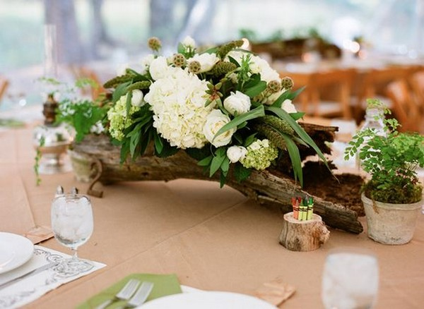 Wooden Centerpieces