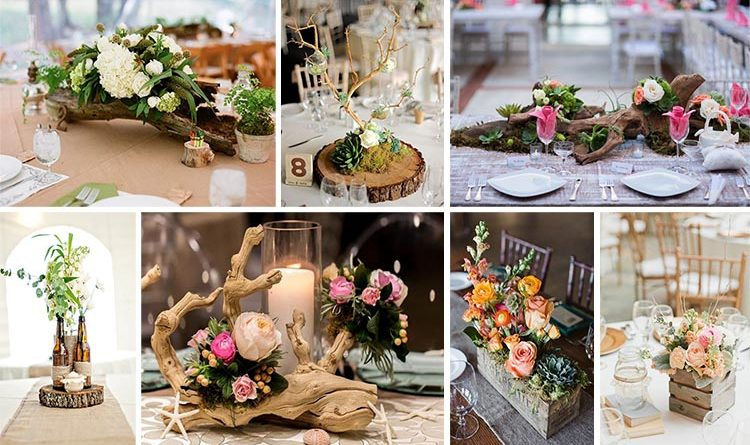 15 Gorgeous Wooden Centerpieces You Will Fall In Love With Them