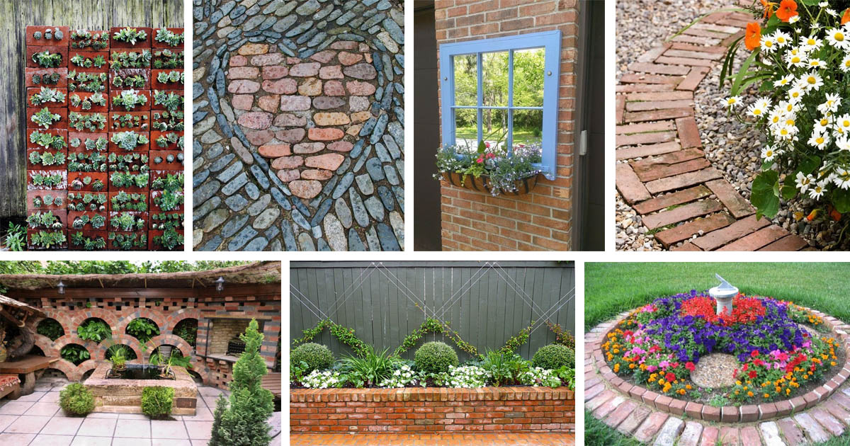Brilliant Diy Garden Decor Ideas With Old Bricks To Save Your Money The Art In Life