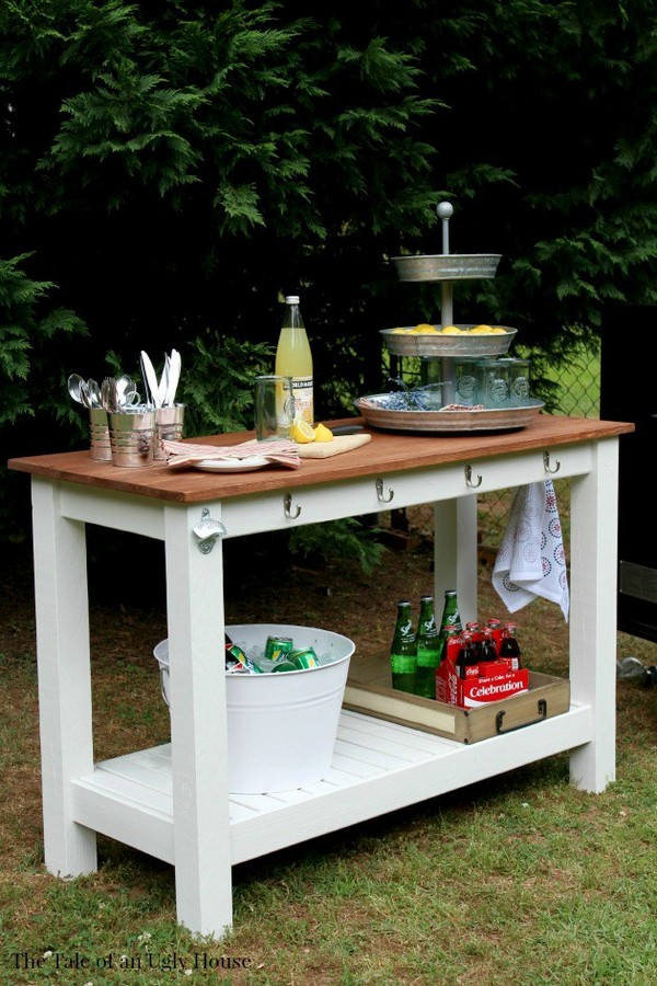 17 Awesome DIY Outdoor Bars Ideas To Prepare Your Patio ...