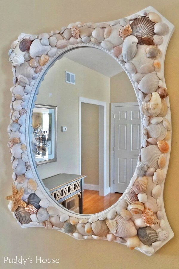 17 adorable diy shell decor projects to bring beach spirit in your home the art in life