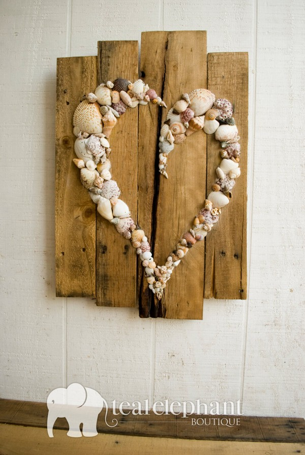 17 adorable diy shell decor projects to bring beach spirit Diy home decor with shells