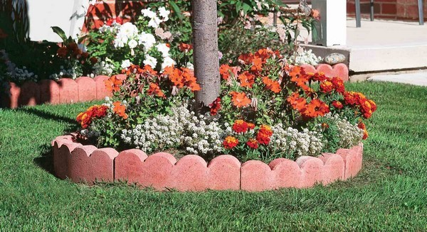 Edge Stone For Garden: 18 Amazing Garden Edging Ideas That Are Budget Friendly