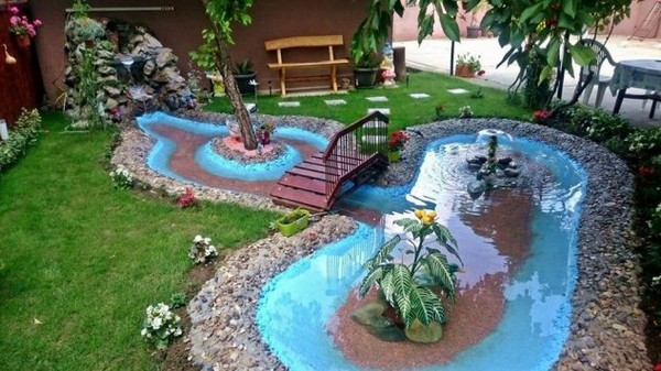 15 do it yourself garden ideas you need to see to believe the art do it yourself garden water feature solutioingenieria Image collections
