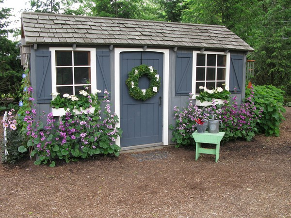 15 Whimsical Charming Gardens Shed Designs The ART in LIFE