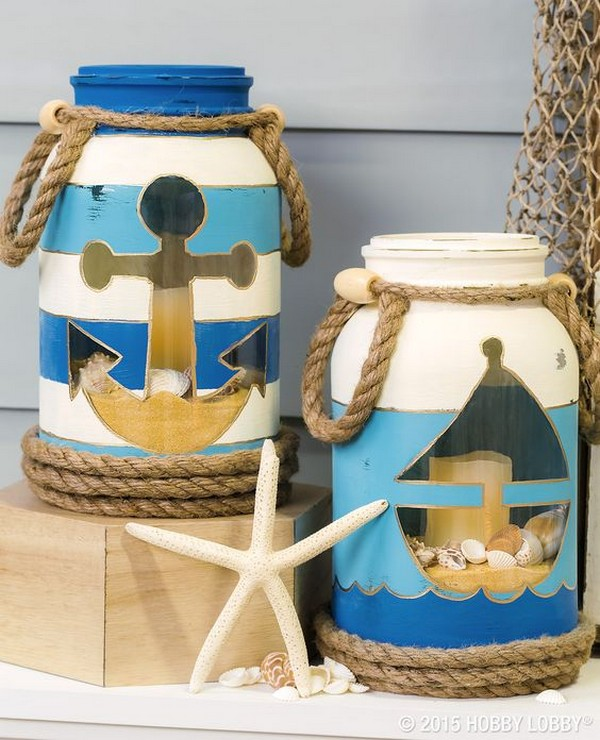 18 Charming Nautical Diy Decorations For Your Home The