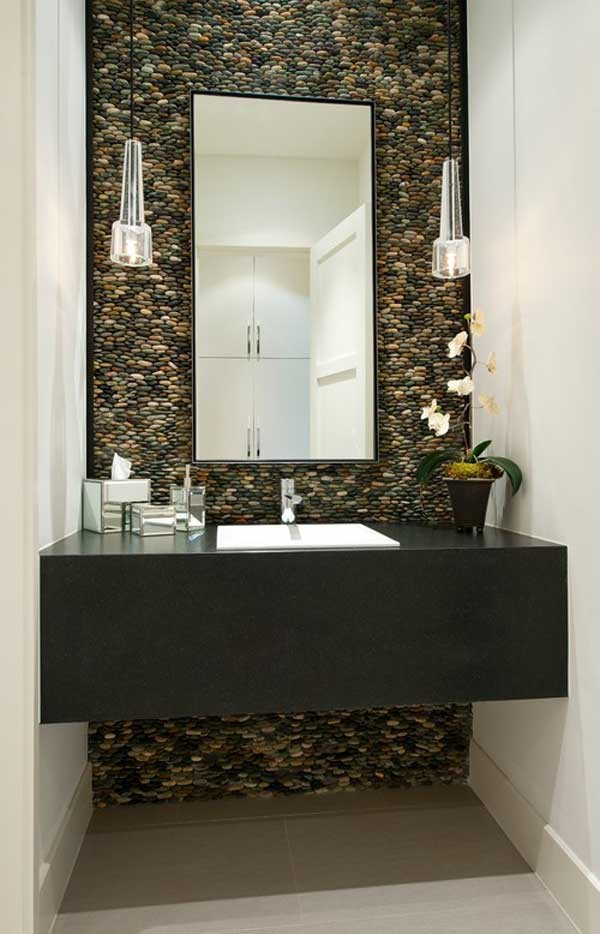 18 Amazing Ideas Adding River Rocks To Your Home Design ...