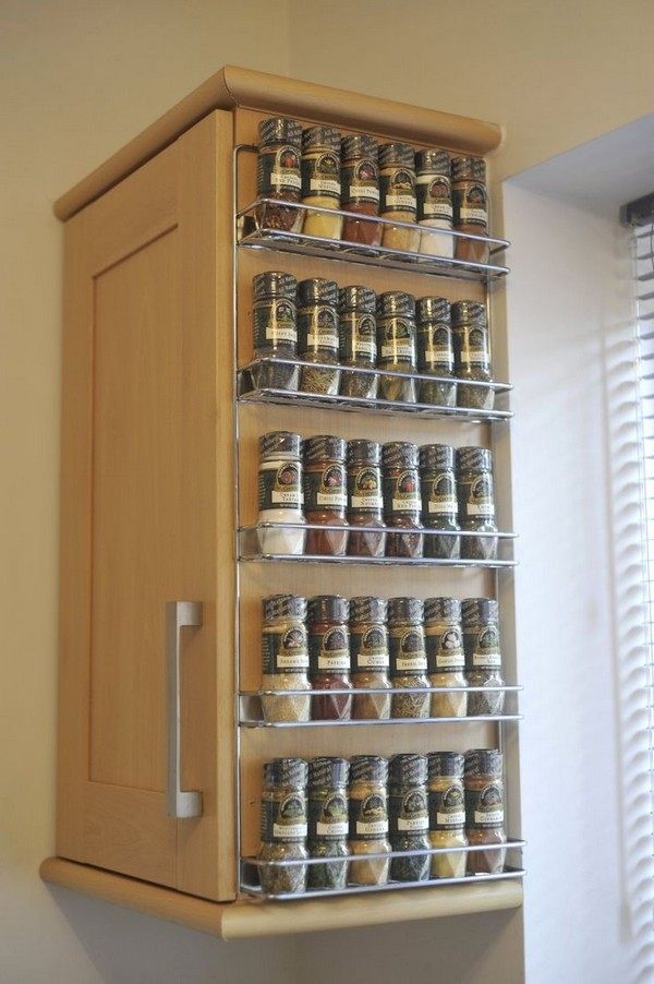 Coolest Spice Rack Ideas For Your Kitchen Decoration - The ...